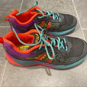 Fila Memory Foam Sneakers   Size 9